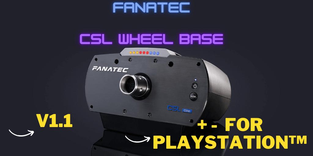 Fanatec CSL Elite Wheel Base Review