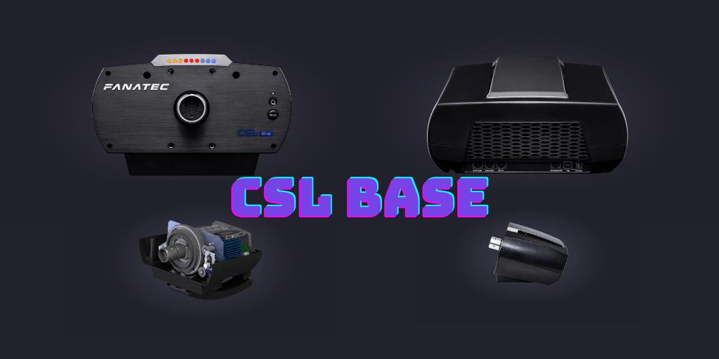 Fanatec CSL ELite base features