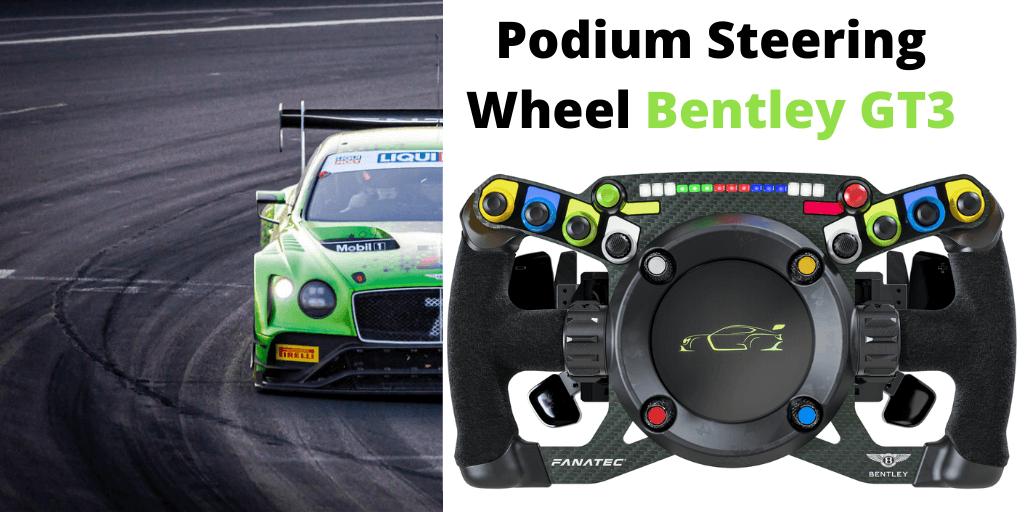 Podium Steering Wheel Bentley GT3